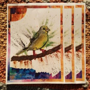 greenfinch prints